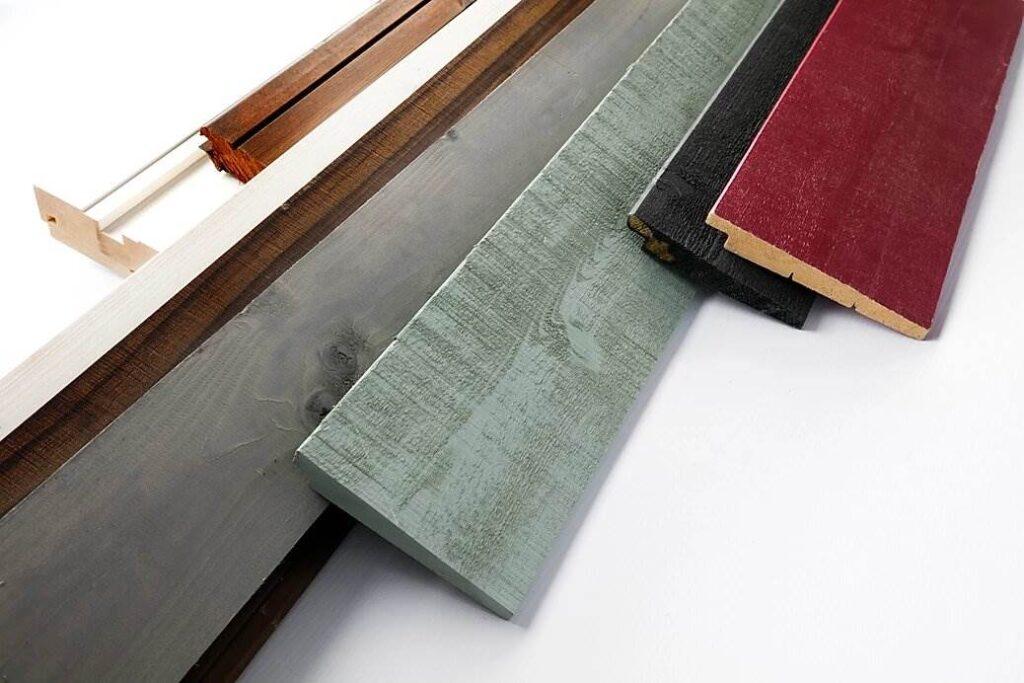 Brædder lakeret på en Ceetec A250 (Platten lackiert auf einem Ceetec A250)