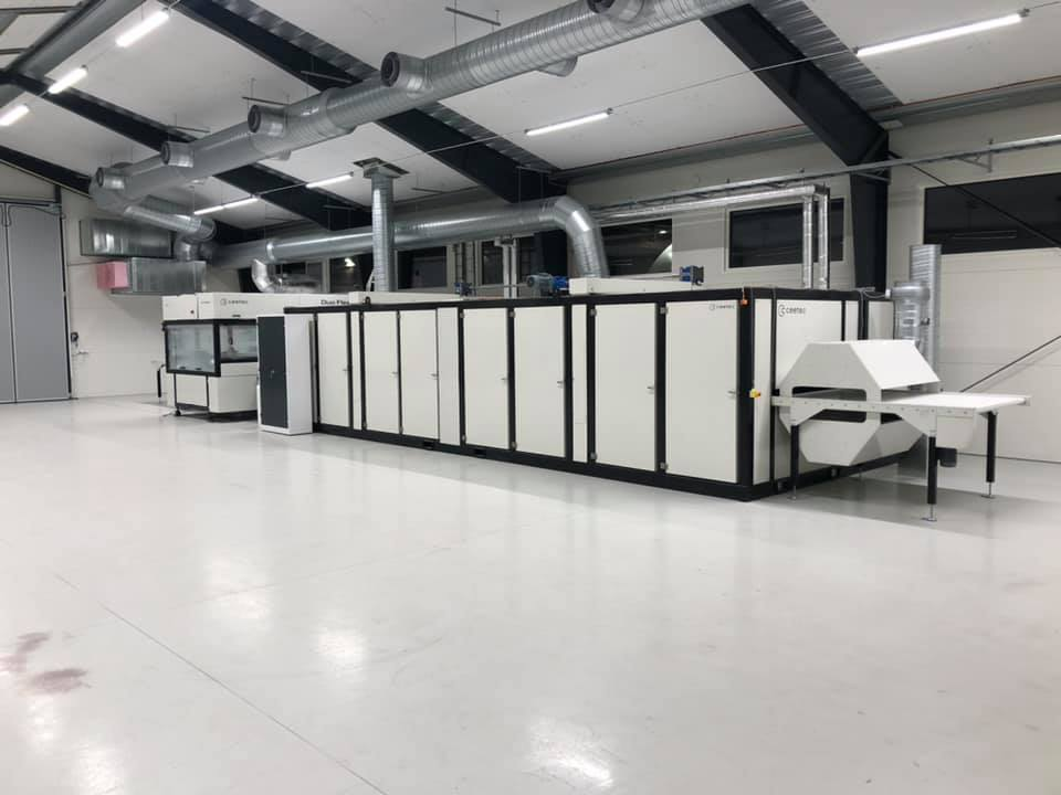 Gemeinsame Eigenschaft der drei Trocknungsanlagen ist der optimierte Trocknungsprozess, der durch eine Kombination aus Infrarot- und Strahldüsentechnologie erfolgt.