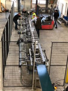 Ceetec Rollformer line